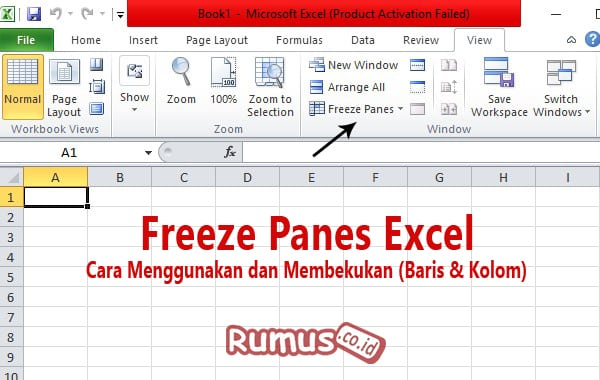 Freeze Panes Excel