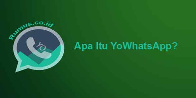 Apa Itu YoWhatsApp?